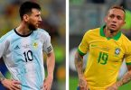 Анонс матча Бразилия - Аргентина